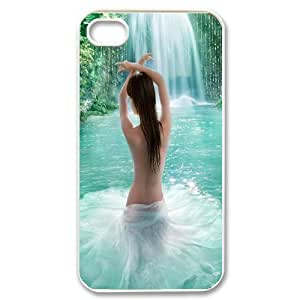 Iphone 4,4S Water Phone Back Case Art Print Design Hard Shell Protection TY033612