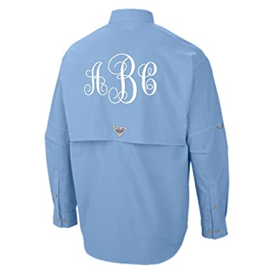 6baddf2e4b Columbia PFG Unisex/Mens Sized Monogrammed Swim Suit Cover Up Unisex Sizes  at Amazon Women's Clothing store: