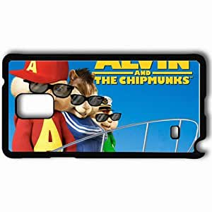Personalized Samsung Note 4 Cell phone Case/Cover Skin Alvin and the chipmunks chipwrecked movies Black by lolosakes