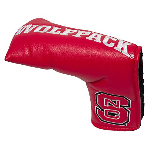 Wolfpack State Gift - Team Golf NCAA NC State Wolfpack Golf Club Vintage Blade Putter Headcover, Form Fitting Design, Fits Scotty Cameron, Taylormade, Odyssey, Titleist, Ping, Callaway