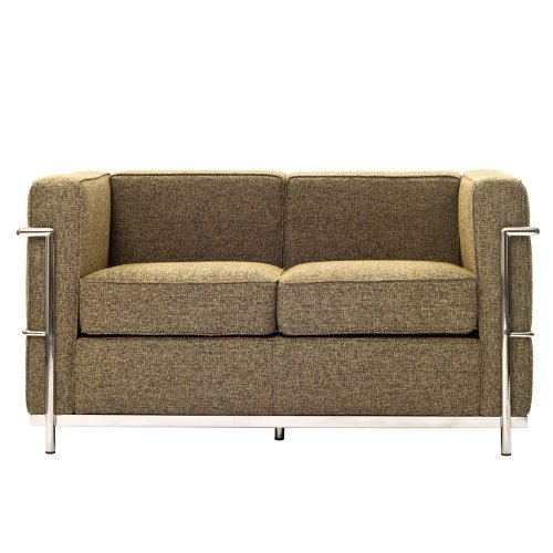 Modway Charles Wool Petite Loveseat in (Lc2 Petite Loveseat)
