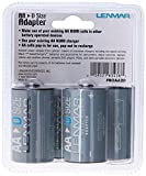 """""""D"""" Size Battery Shell Adapter for AA Batteries"""