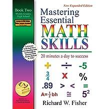 Mastering Essential Math Skills Book 2 Middle Grades/High School