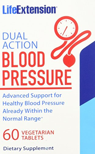 Pressure 60 Tabs (Life Extension Dual Action Blood Pressure Am/Pm Tablets, 60 Count)