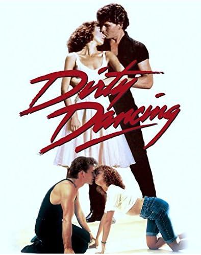 Dirty Dancing Patrick Swayze Kiss Movie Poster 24x36