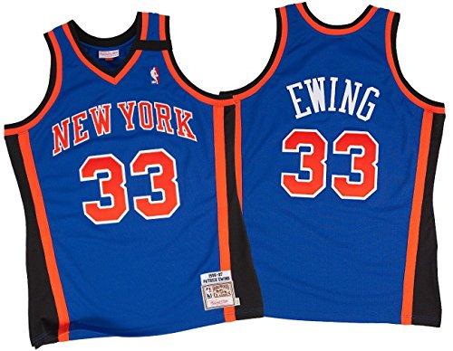 e97715a95e2 Amazon.com : Patrick Ewing New York Knicks Mitchell & Ness Authentic 1998  Blue NBA Jersey : Sports & Outdoors