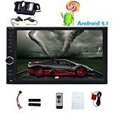 In dash Universal Android 5.1 Lollipop Car autoradio Player Mirror Link GPS Navigation double 2 din car Stereo multitouch capacitive 7 Inch Screen built-in bluetooth Quad Core 1g ram+16g rom 800480