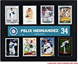 "Felix Hernandez Seattle Mariners Sublimated 12"" x 15"" Trading Card Plaque - Fanatics Authentic Certified"