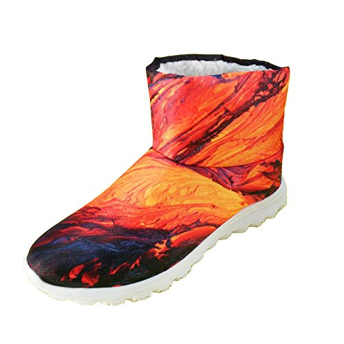 Flat Waterproof U Brown Christmas Boots Men 3 FOR Snow Boys DESIGNS Winter Carnival Fashion PqW8Bw