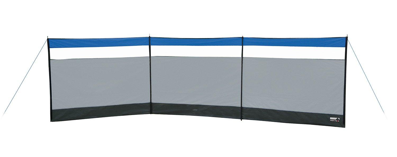 High Peak Wind-und Sichtschutz Mistral Windschutz, grau/dunkelgrau/Blau,