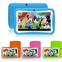 7inch Kids Tablet Google Android 4.4 Quad Core Multi-Touch Screen 8GB Hard Drive Pre-installed Games and Apps, Google Play Store, Kids Desktop etc