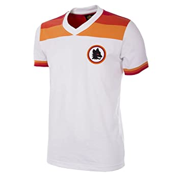 AS Roma 1978-1979 Camisa de Fútbol Retro (M)