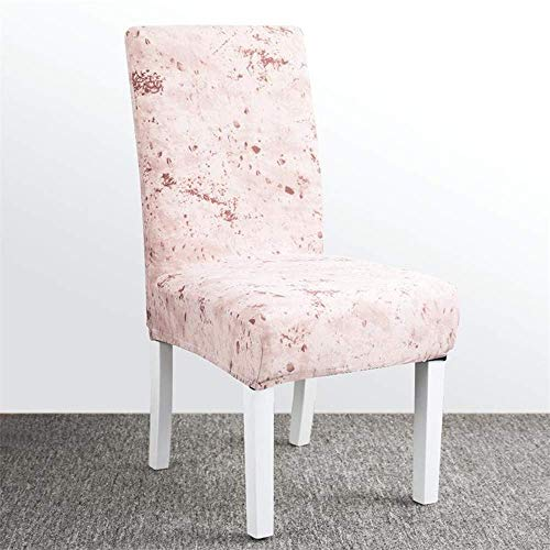 XHCP Chair Cover Dining Chair Covers Siamese Stretch Chair Home Restaurant All-Inclusive Back Cover Seat Seat Cushion Anti-Dirty Detachable,E