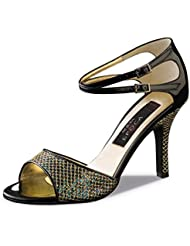 Nueva Epoca Womens Cecilia 8.0 Black Hologram / Black Patent