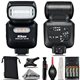 Nikon SB-500 AF Speedlight For D3000, D3100, D3200, D3300, D5000, D5100, D5200, D5300, D5500, D7000, D7100 Nikon Digital SLR. All Original Accessories Included - International Version