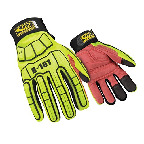 Ringers Gloves 161 Light Duty Series Synthetic Leather Padding, Medium by Ringers