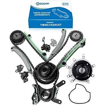 ROADFAR Timing Chain Water Pump Kit fits for 2003-2008 Dodge Jeep 4.7L SOHC NGC /& JTEC