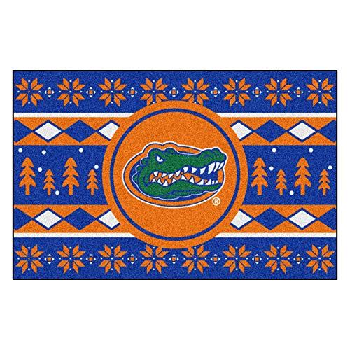 Fanmats NCAA Holiday Sweater Starter Rug, Florida, 19