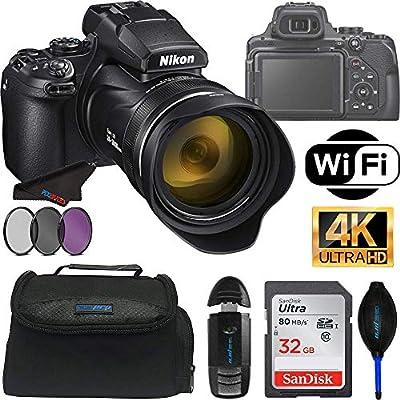 Nikon COOLPIX P1000 Cámara Digital con Zoom óptico 125X + ...