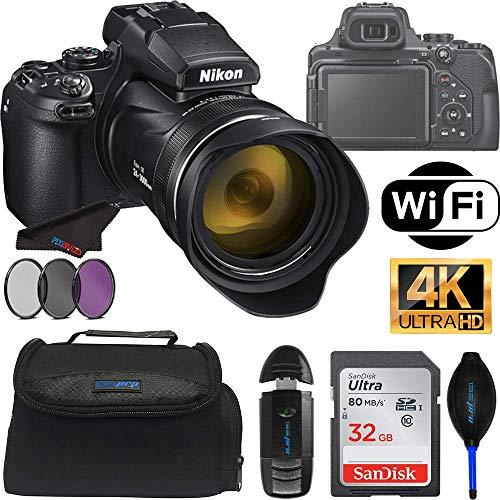 Nikon COOLPIX P1000 Digital Camera with 125X Optical Zoom + Pixibytes Pro Bundle