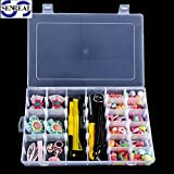 plastic storage for sewing - SENREAL 36 Grid Clear Plastic Adjustable Craft Beads Jewelry Sewing Storage Box Case Organizer Container Divider Portable Electronics Parts Gadgets Tool Storage Box