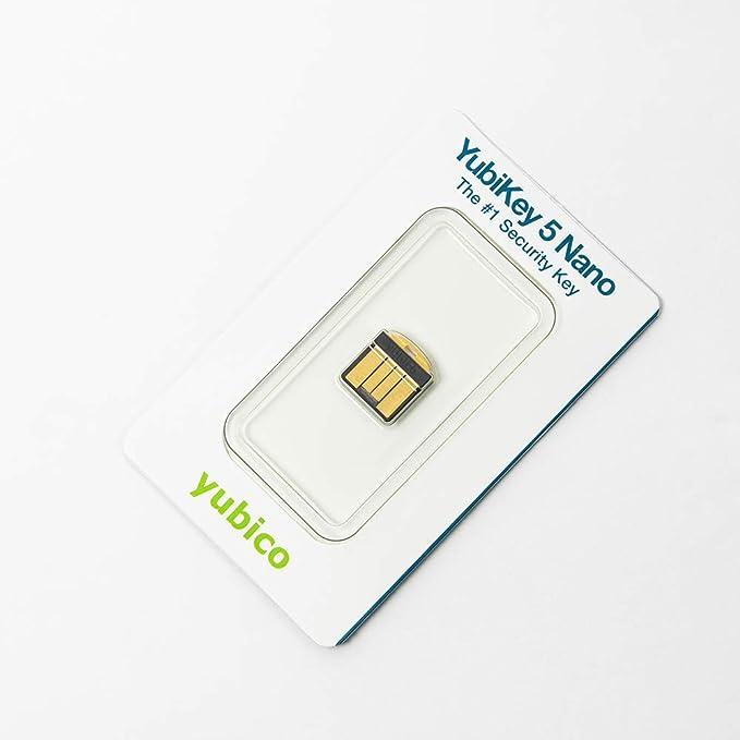 Yubico Yubikey 5 Nano Two Factor Authentication Usb Computer Zubehör