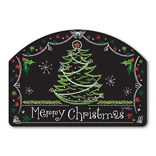 "Blackboard Christmas Yard DeSign Address Sign - 14"" x 10"""
