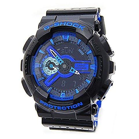 G-Shock GA110LPA-1A Luxury Watch - Black/Blue / One Size (Blue G Shock Men)