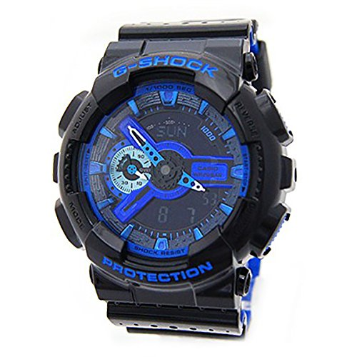 Casio G-Shock GA110LPA-1A Luxury Watch - Black/Blue / One (Blue G-shock Watch)