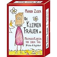 Die kleinen Frauen: Mutmach-Karten für jeden Tag - 50 Karten & Begleitbuch