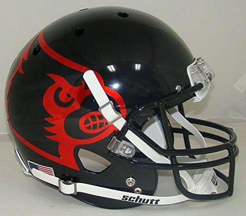 Schutt NCAA Louisville Cardinals Replica XP Football Helmet, Black Alt. ()
