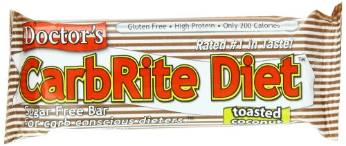 CarbRite Diet Bars – Keto, Low Carb, Sugar Free, Gluten Free, Fats, Protein