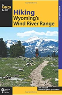 Wind River Range Wyoming Map.Wind River Trails Finis Mitchell 9780874806267 Amazon Com Books