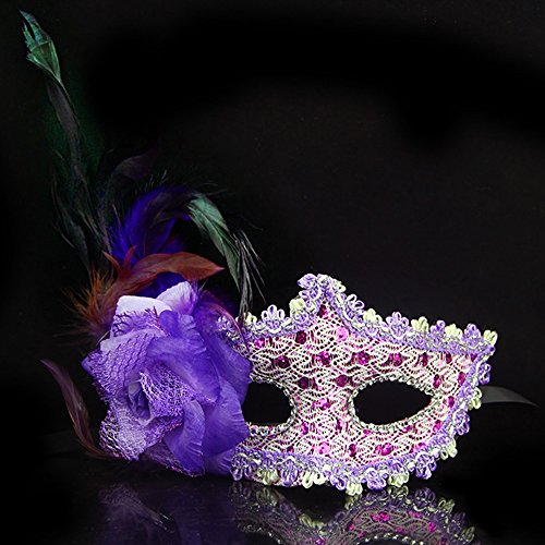 KAKA(TM) Mask Costume Cosplay Ball Dancing Party [Halloween] Princess Masks Facial Masquerade Glitter - (Tortoise Costumes)