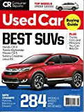 Consumer Reports Buying Guide Used Cars, Trucks, SUVs August 2019, 284 Models