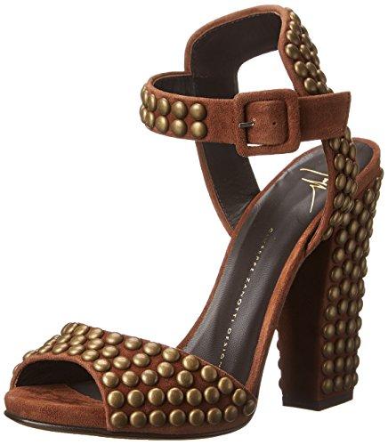 Giuseppe Zanotti Women's Dress Sandal, Cam Castagno, 7 M US