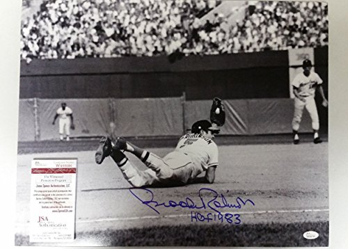 - Brooks Robinson Signed Autographed 16x20 Photo JSA COA Baltimore Orioles