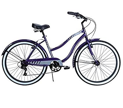 142a64047c4 Amazon.com   7 Speed Women s Huffy Beach Cruiser Bicycle with 26 Inch Tires  and Allow Rims