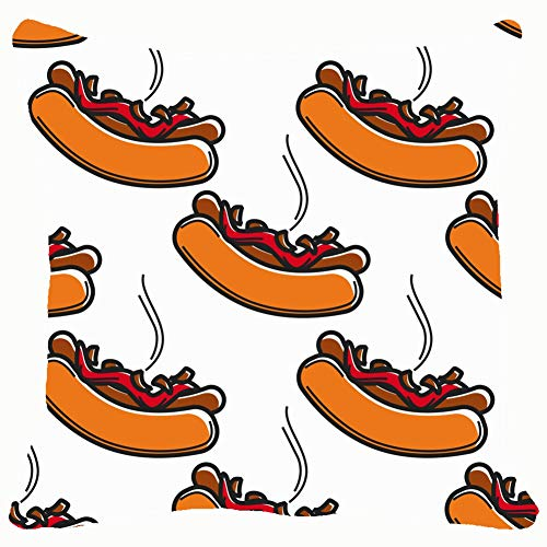 Throw Pillow Covers Iceland Fast Food hot Dog