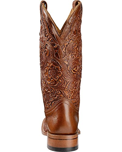 Boulet Damehåndetterbehandles Belmont Cowgirl Støvel Firkantet Tå - 2015 Whisky