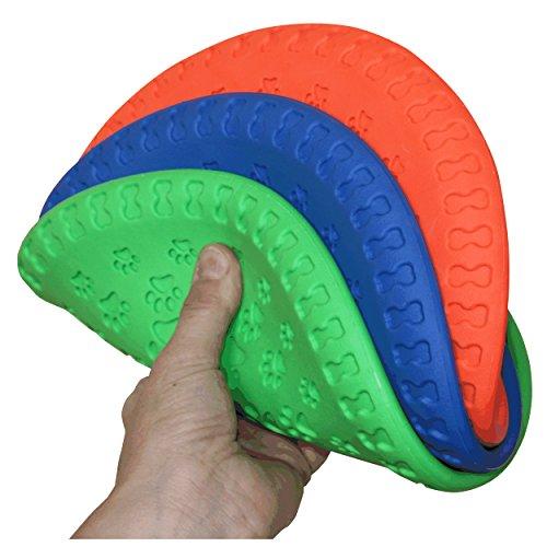 1, 3, 5 oder 15 weiche Hunde Frisbee / Dog Frisbee Disc, 1 Stück, bunt gemischt, Durchmesser ca. 23 cm in verschiedenen Farben