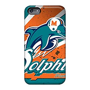 Allbestcases Apple Iphone 6 Perfect Hard Phone Case Customized HD Miami Dolphins Pictures [aDn107QQvb]