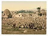 Historic Photos The cemetery where the family of Mahomet are buried, Damascus, Holy Land, (i.e. Syria)