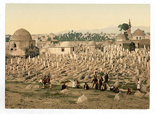 Historic Photos The cemetery where the family of Mahomet are buried, Damascus, Holy Land, (i.e. Syria) by Historic Photos