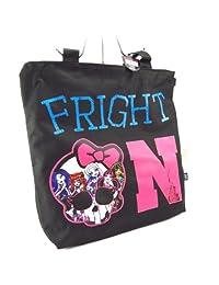 Tote bag 'Monster High' black rose.
