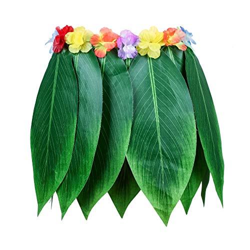 Ti Leaf Hula Skirt Hawaiian Green Leaves Grass