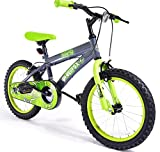 16' Toxin Boys KIDS BIKE - Childrens SILVERFOX Bicycle in GREEN Ages: 5 - 7
