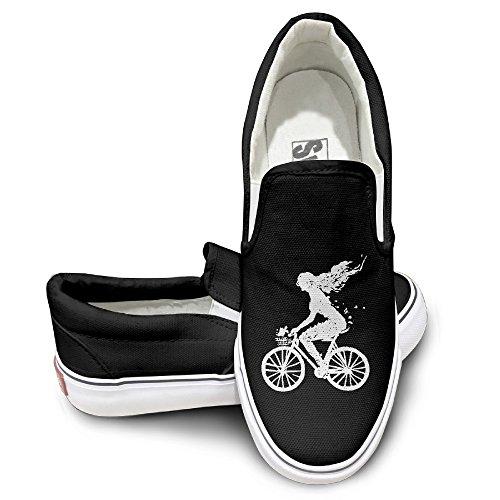 Mermaid Bike Unisex Athletic Casual Canvas Sneakers Loafe...