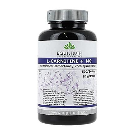 L Carnitina + pido MG 500/240 mg – equi-nutri