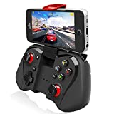 Cheap Megadream Bluetooth Android Gaming Controller Joystick with Phone Clamp for Android Smartphone Samsung Galaxy S8+ S7Edge S6 Note 8 Tablet – Support Windows 8 7 XP System & Android TV box / Android TV